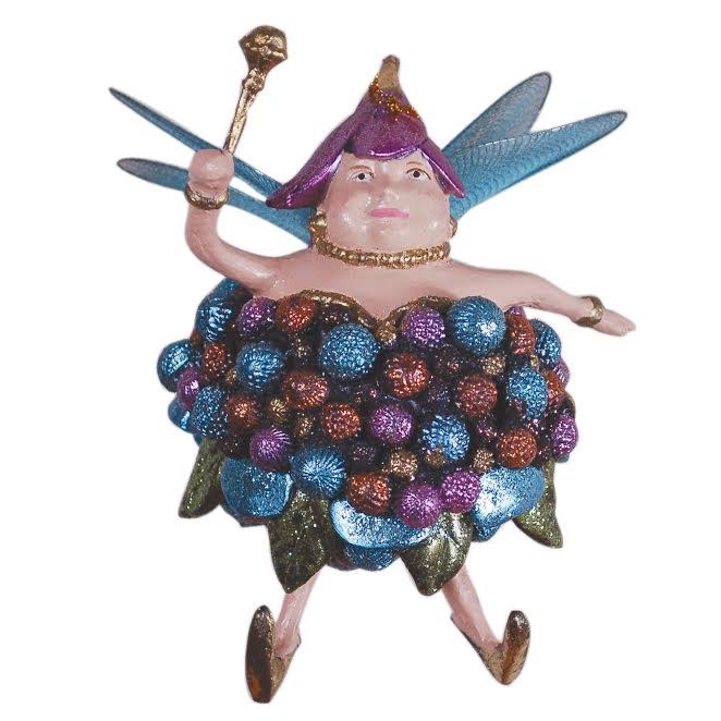 Christmas Fairy Decorations: Fat Fairy Christmas Tree Decoration